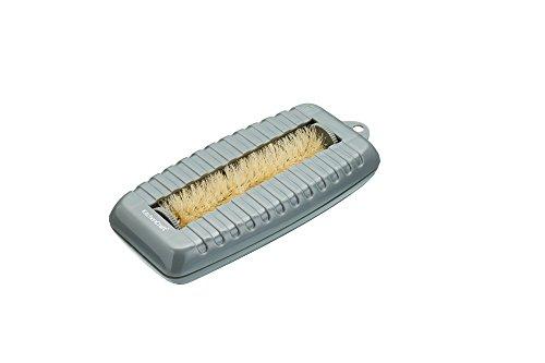 Kitchen Craft Kompakter Krümelaufsammler/ Polsterbürste, Plastik, Grau, 7 x 16 x 4 cm -