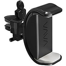 VAVA Handyhalterung Auto Lüftungsschlitz Klammer mit eingebautem Drehknopf Kabel Haken 360° drehbares Gelenk universal für iPhone, Galaxy und die populärsten Smartphones