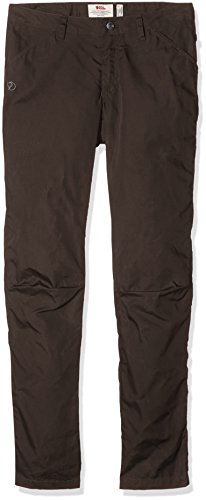 Fjällräven Damen High Coast Trousers W Lange Hose, Mountain Grey, 42