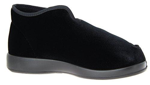 Varomed Genua, Unisex - Erwachsene Hausschuhe Schwarz (schwarzes)
