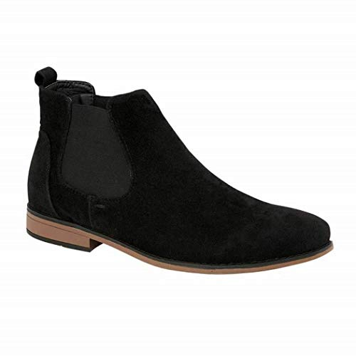 Foster Footwear Mens Kanye Charles Southwell Faux Suede Chelsea Gusset Italian Style Fashion Dealer Ankle Boots Size 7-12