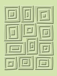 ~~~~Cuttlebug Embossing Folder Traffic Jam 37-1141 A2 Emboss Card Making