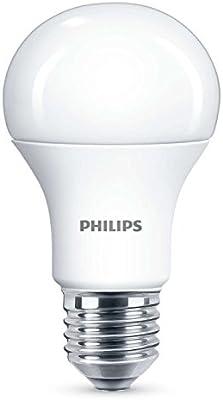 Philips 929001235101 - Bombilla LED estándar, casquillo E27, consume 13 W (equivalente a 100 W), luz fría, no regulable