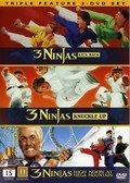 3 Ninjas (Ninja Kids) Kick Back + Fight & Fury + Mega Mountain Mission [3 DVD Set]
