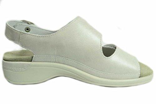 Semler H1075-019115, Sandali donna Bianco