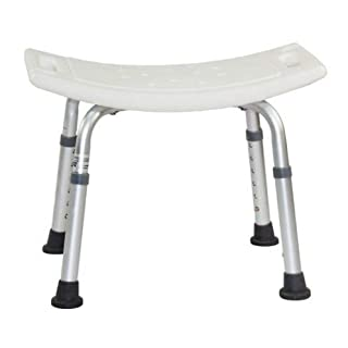 Adjustable Height Aluminium Shower Chair