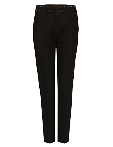 Marc Cain Collections Damen Hose Braun (dark moro 696)