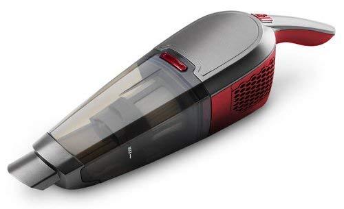 MEDION MD 16911 2in1 Akku Handstaubsauger (90 Watt Leistung, 180° drehbare Bodendüse, Elektrosaugbürste) grau-rot