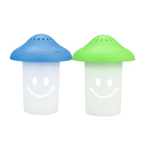 Eberry Mikrowelle Reiniger–Happy Mushroom Mikrowelle & Ofen Dampfgarer Reiniger für Reinigung...