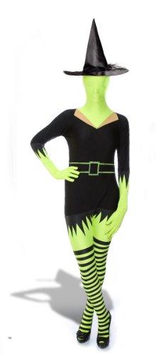 Ganzkörper Morph Anzug - Original Lizenz Morphsuit Hexenkostüm Kostüm Hexe