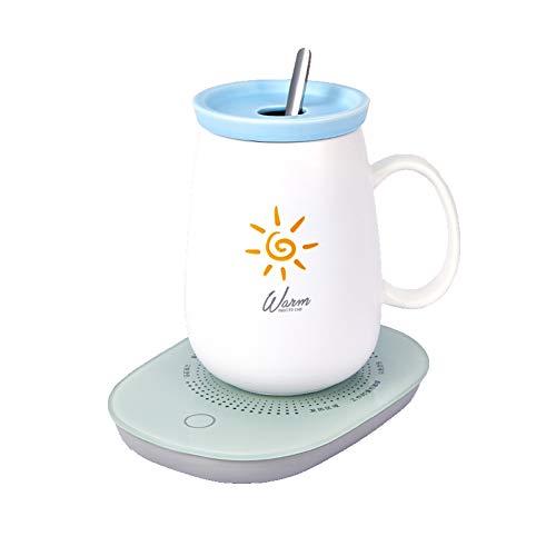 Calentador de Café,Calentador de Bebidas Portátil,Calentador de Bebidas Eléctrico con,Calentador...