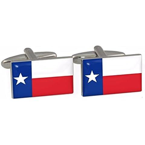 Motivo: bandiera dello stato del Texas US-Daddy-Gemelli in confezione regalo