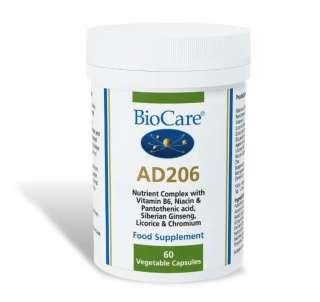Biocare AD 206 (Nebennieren-Unterstützung mit Apfel-Extrakt) 60 Kapseln