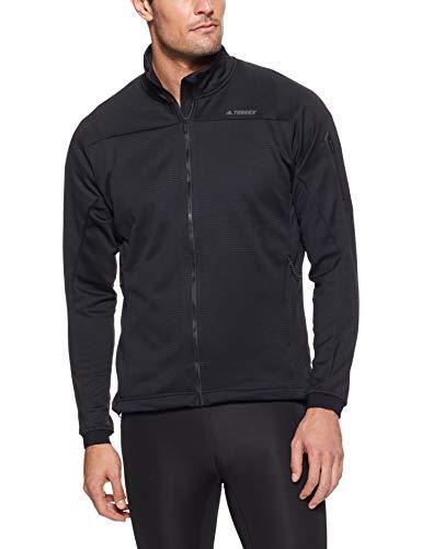 adidas Herren Stockhorn Fl J Sweatshirt, schwarz(black), 48 Adidas Nylon-pullover