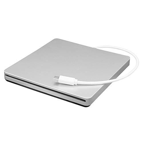 Preisvergleich Produktbild Yogadada Tragbare Typ-C-DVD CD RW Externe Slot-In Laufwerk Brenner Writer Mobil Optisches Laufwerk für Laptop & Desktop & Notebook