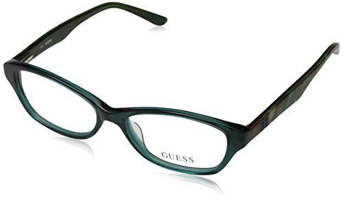 Guess Damen Brille GU2417 52I33 Brillengestelle, Grün, 52