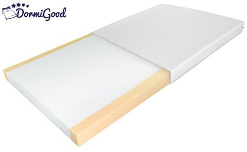 Babymatratze Komfort 70x140 cm - Hochwertiger und geprüfter Komfortschaum mit Trittkanten - Made in Germany - Als Kindermatratze bis 5 Jahre geeignet - 70 x 140 cm
