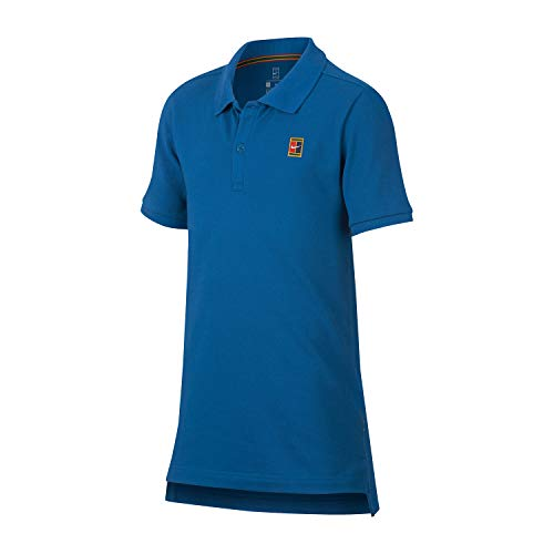 Nike Jungen Heritage Poloshirt, Blau, XL
