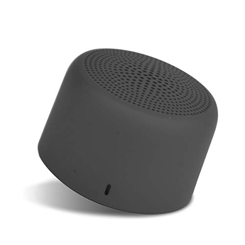 Portronics PICO Bluetooth 5.0 Personal Mini Portable Stereo Speaker with TWS, Crisp, Loud and Clear 3W, Black