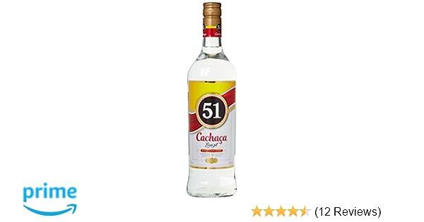 Cachaça 51 Pirassununga 1 X 1 L Amazonde Bier Wein Spirituosen
