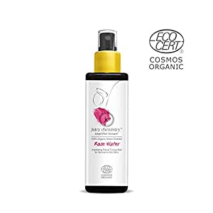 Juicy Chemistry Organic Rose Water (Hydrating Facial Toning Mistfor Normal to Oily Skin Type) (100ml)