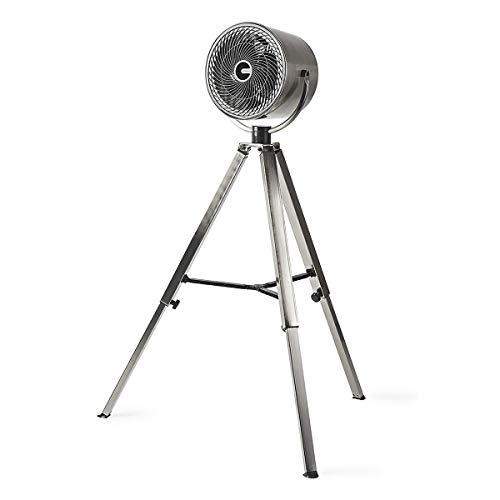TronicXL 130cm Standventilator Designer Stativ Tripod Steel Stahl Metall Design Ventilator Retro Moderne Vintage