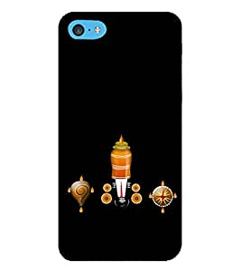 HiFi Designer Phone Back Case Cover Apple iPhone 6 Plus :: Apple iPhone 6+ ( Balaji Tirumala Tirupati Hindu God )