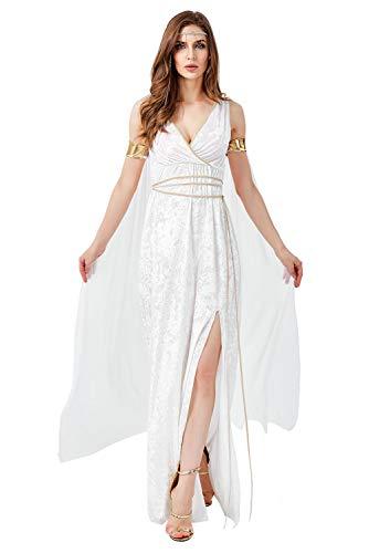 Tollstore Griechische göttin kostüm, Damen Göttin Kostüm für Karneval Halloween Fasching Damen M