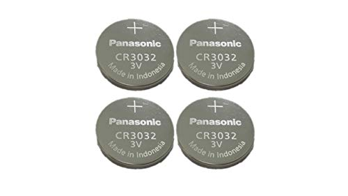 4-Pack Panasonic Battery, Lithium Button Cell Cr3032- Cr 3032 4 Pack Lithium Batterien,