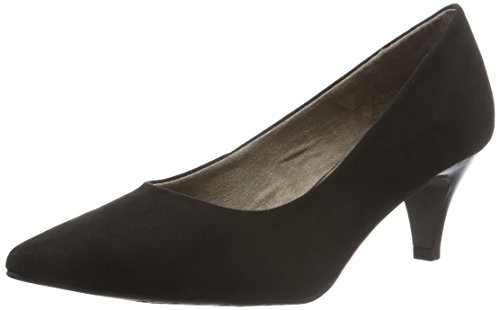 Tamaris Damen 22415 Pumps, Schwarz (Black Suede 004), 39 EU