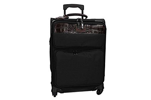 Usado, Maleta semirrígida ROWALLAN negro maleta mediana con segunda mano  Se entrega en toda España