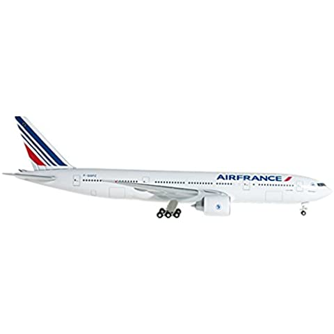 Herpa 527248 Air France Boeing 777-200 F-GSPA 1: 500 Modelo fundido a troquel