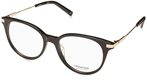 Polaroid Brille (PLD-D352 807) Acetate Kunststoff - Metall schwarz - hell gold