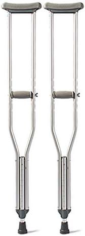 Walking Walking Walking Stick Home Stampelle per ascelle in Lega di Alluminio stampelle per Camminatori stampelle per disabili Attrezzature per la Riabilitazione (Dimensione   Large Pair 134-154cm) | Conveniente  | The King Of Quantità  275797