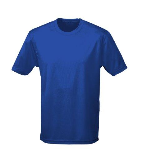 Just Cool - Performance T-Shirt, atmungsaktiv M,Royalblau