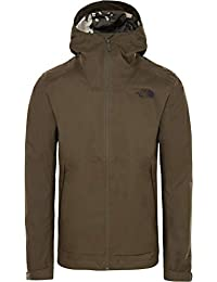 The North Face Millerton Chubasquero, Hombre, Verde (New Taupe), XL