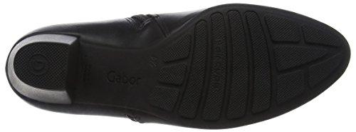 Gabor Comfort Basic, Bottes Pour Femme Noir (schwarz Micro)