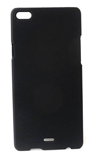 Premium Back Cover for Micromax Canvas Sliver 5 Q450 Hard Plain Cover    Perfect Fit   Tough Cover   Plain Cover  Micromax Canvas Sliver 5 Q450 - Black