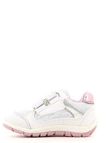 Geox bambino SHAAX sneakers bianco scarpe bambina B6233C Bianco