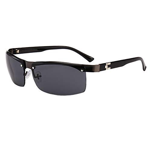 Sonnenbrillen Polarisierte Männer Unisex UV-Schutz Coole Brille Sonnenbrille Herren Clip Sunglasses Fliegerbrille Verspiegelt Outdoor Reiten Sport Fahren Tourismus Voll Grau