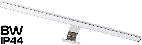 Bichon®–Lampe Miroir 2en 1LED 8W IP44230V–Embout + Transformateur Construction–LED intégrée Moderne tagesweiß (4000 K)