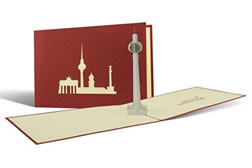 Gutschein für Reise nach Berlin verschenken Souvenir,... Fernsehturm Ausflug