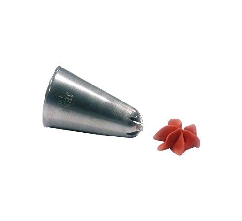 JEM Numero 106goccia fiore ugello punta, Argento, Silver, 1