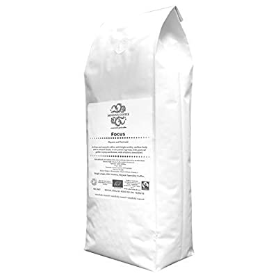 Mindful Coffee - Focus 1kg| Organic Bulletproof Coffee Beans | Lab Tested | Freshly Roasted |Single Origin Speciality|Whole Beans by Mindful Coffee