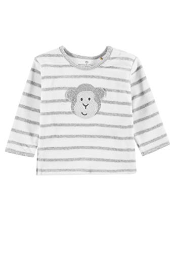 Bellybutton mother nature & me Bellybutton mother nature & me Unisex Baby Sweatshirt 1/1 Arm, Grau (Morning Grey|Gray 8432) 56