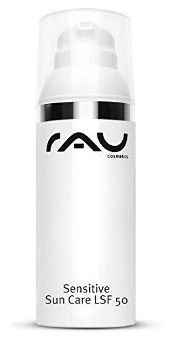RAU Sensitive Sun Care LSF 50 - Sonnencreme mit Shea Butter für Körper und Gesicht