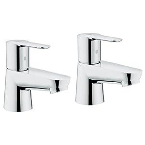 Grohe Bauedge – Set de grifos de lavabo, tamaño M, Ref. 2042100