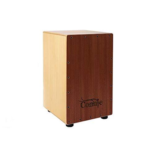 Box Drum, Holz Percussion Box, Holz Farbe CL51 Gitarren-Schnur, Spielstil, Holzkiste Trommel for Erwachsene ( Color : Natural , Size : 31*30*48cm )