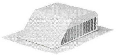 Air Vent rval5000Aluminium Slant Rückseite Dach Vent -