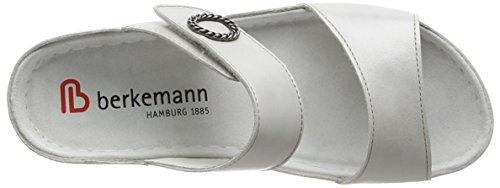 Berkemann Michella Damen Pantoletten Silber (696 silber)